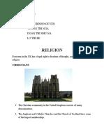 Religion Group 8