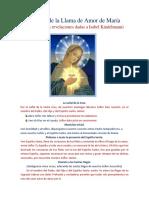 Rosario de La Llama de Amor de María