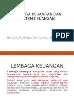 Lembaga Keuangan Dan Sistem Keuangan Baru