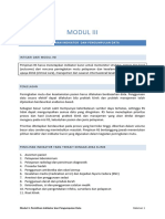 Modul 3 Pemilihan Indikator Dan Pengumpulan Data Copy