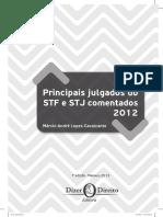 Principais Julgados do STF e STJ (2012).pdf