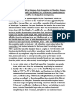 Agenda of Naresh Kadyan for State Committee for Slaughter Houses (Govt. of Haryana) - Abhishek Kadyan