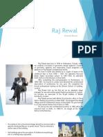 Presentation on Raj Rewal