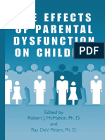 The Effects of Parental Dysfunction in Childern