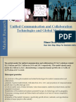 Unified Communication and Collaboration Technologies and Global Markets