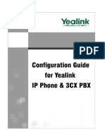 Configuration Guide for Yealink IP Phone & 3CX