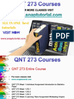 QNT 273 Academic Success/snaptutorial