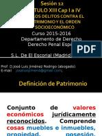 Sesión 12 Delitos Contra El Patrimonio y El Orden Socioeconómico Abogado- Copia