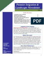 premier irrigation newsletter volume 16