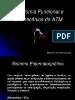 AULA 1 - Anatomia Funcional e Biomecânica Da ATM