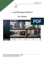 Central Management Software User Manual