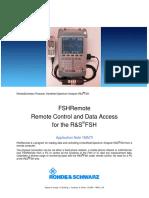Fsh Remote Note