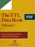 1984 the TTL Data Book Vol 1