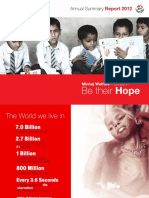 Annual Summary 2012 - Minhaj Welfare Foundation