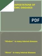 Skin Manifestation of Systemic Diseases