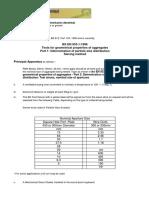 Particle Size Distribution 40mm BS en 933-1