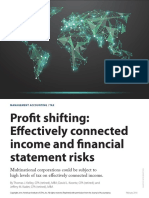 Profit Shifting and Effectively Connected Income_Financial Statement Issues