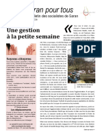 Bulletin PS Saran Février 2016
