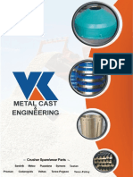 Stone Crusher Spare Parts Manufacturer and Supplier - VK Metal Cast & Engineering Brochure