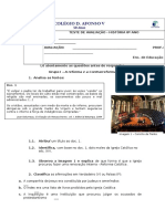 TESTE DE AVALIAÇÃO8