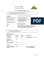 Material Safety Data Sheet for Blended Cement