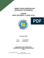Teknologi Telematika Nurhalim 1211600075