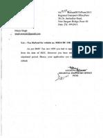 Rto Pune RefusalBMV Act 1959
