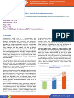 Polyphenylene Sulfide (PPS) – A Global Market Overview