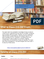Pass4sure 210-260 Questions Answers