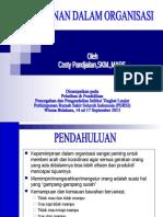 KEPEMIMPINAN DALAM ORGANISASI PPI LANJUT PERSI 2015.ppt