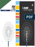Scule pentru biciclete UNIOR - Catalog 2015-2016