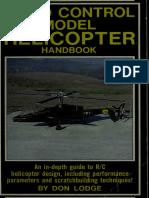 Radio Control Model Helicopter Handbook