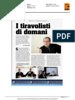 """I tiravolisti di domani. Nasce il """"Progetto Neofiti"""" - Armi Magazine, Marzo 2016"""