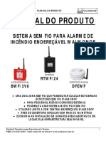 Manual Sistema Sem Fio Walmonof - JAN-15