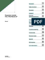 Manual Sentron Pac Profibus Do Modul 2009 02 En