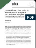 CONTEMPORANEA - Estrategias Laborales y Clases Sociales