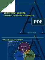 Subsistema Funcional- (1)