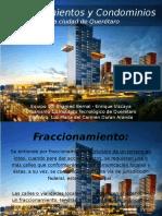 Fraccionamientos y Condominios Definición