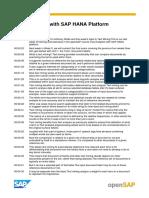 OpenSAP Hsta1 Week4 Transcript