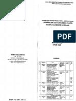 Normative Privind Proiectarea Si Executarea Lucrarilor de Pardoseli, Plinte, Scafe, Elemente de Scari