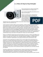Soluzioni immediato a Nikon di Step by Step Dettaglio