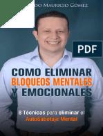 Como Eliminar Bloqueos Mentales