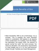 HCSE Provide Benefits of Bim