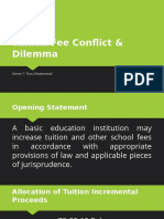 Tuition Fee Conflict & Dilemma - Simon Bob