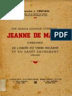 JEANNE-DE-MATEL-Chanoine-L.-Cristiani-1947