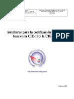 Auxiliar para la codificacion clinica con base en el CIE-10 y CIE-9-MC