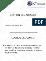 Presentación gestion de Alcance