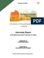 40347717 Bank of Punjab