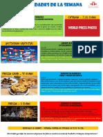 Actividades de la Escuela de Español 22 - 28 Febrero