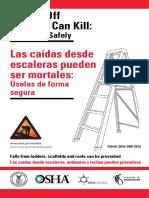 Uso Seguro de Escaleras BY OSHA